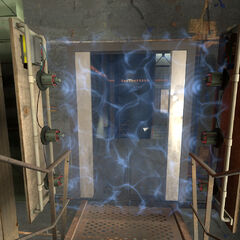 Early Material Emancipation Grill in Test Chamber 01.