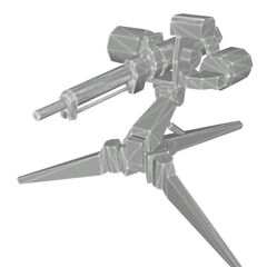 Beta Sentry Gun, with temporary textures.