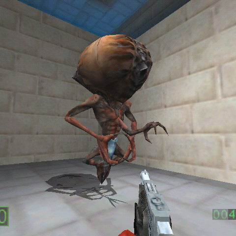 Early Alien Controller in a test map.