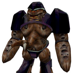 A HD Alien Grunt model without the Hivehand.