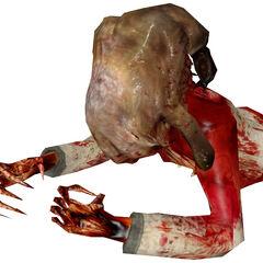 Zombie torso.