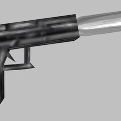 Suppressed Glock 18 worldmodel, used by the Black Ops.