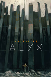 HL Alyx steam library cover