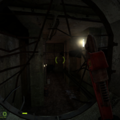 Underground Sewer probably in Urban Chaos Screenshot.