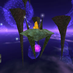 Race X portal on Xen, from which flow Sprites.
