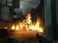 Zombie Ravenholm burn