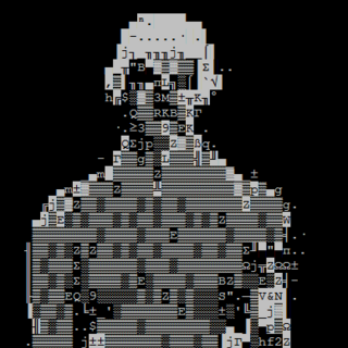 ASCII art version of the front view, seen in the