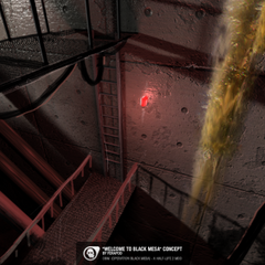 <i>Welcome to Black Mesa</i> environment.