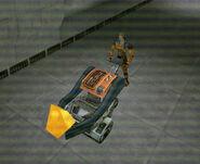 Gina Cross sample cart BS