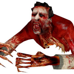 Zombie torso, without the Headcrab.