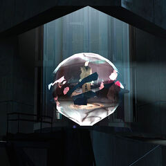 Breen inside the sphere in the Citadel's Dark Fusion Reactor.