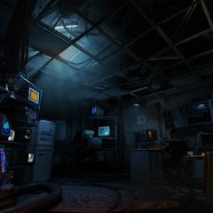 Russel's lab.