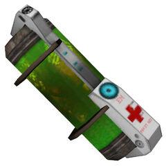 The <i>Half-Life 2</i> healthvial.