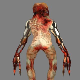 The Back of the Zombie Assassins original model.