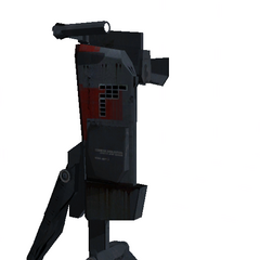 Beta Sentry Gun, closer to the final model.