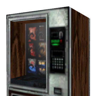 Snack vending machine introduced in <i>Half-Life</i>.