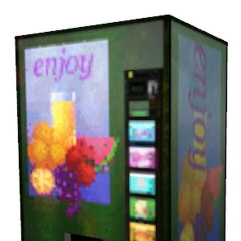 One of the original brush vending machines from <i>Half-Life</i>.