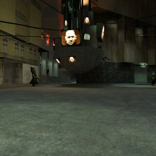 The Cremator roaming the streets in the map <code>c17_04_12</code>.
