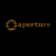 The Aperture logo as used in the loading screen.