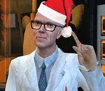 Kleiner bust lab christmas