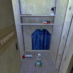 Freeman's locker after the Resonance Cascade.