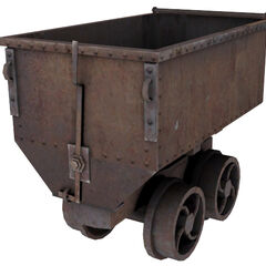 Mining cart from the <a href=