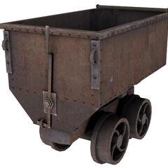 Mining cart model.