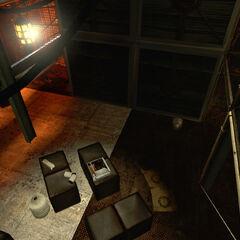 Inside the Ratman den near Test Chamber 16.