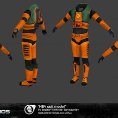 The HEV suit.