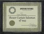 Underground trophycase showercurtain