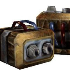 An unused model for a large Battery. A large Battery holds 12 cells, but the large Battery in-game uses the regular Battery model.