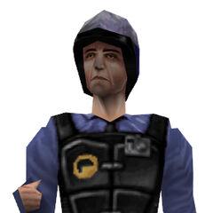 <i>Half-Life</i> Multiplayer model.