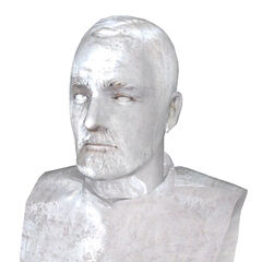 Beta bust model, more Roman-looking and with a Consul-like outfit.