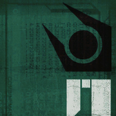 Common Combine poster, green with a crowd, used for the Breencast's
