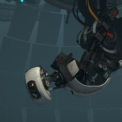 GLaDOS' body after a slight reconstruction.