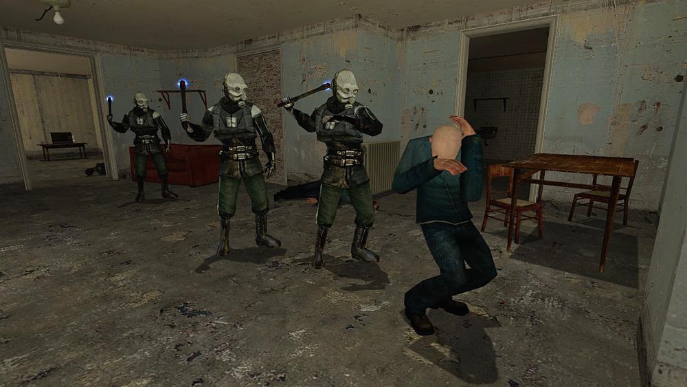 New combine soldiers pack + BONUS [Half-Life 2] [Skin Mods]