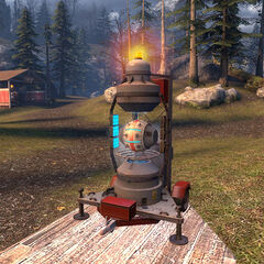 Magnusson Device teleporters near White Forest's north entrance.