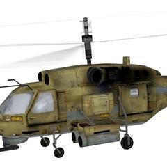 Left side of the Ka-27.