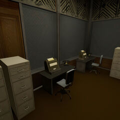 Office near Test Chamber 02.