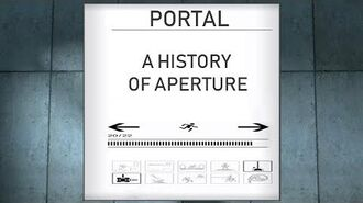 Portal- A History of Aperture (Timeline and Lore)