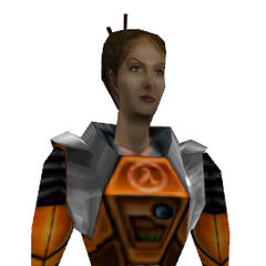 The <i>Half-Life: Day One</i> model.