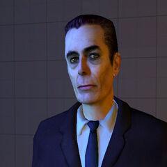 Early <i>Half-Life 2</i> model.