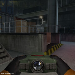 In-game screenshot of the Laser Tripmine.