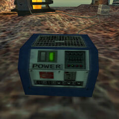 Equipment brought to Xen by Black Mesa.