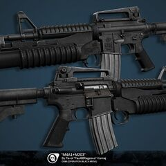 M4 Assault Rifle Gun.