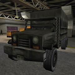 Black Ops M35 cargo truck transporting the Mark IV Thermonuclear Device.