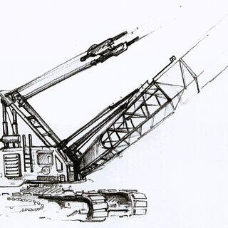 Crane concept art.