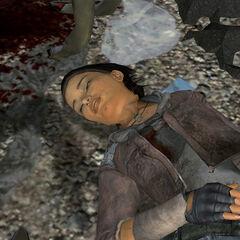 Alyx dying.