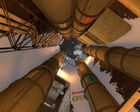 Shaft to Gel Pump Station Test Shaft 09 Portal 2