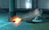 Rocket glados fire